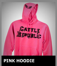 Pink Cattle Republic Sweatshirt