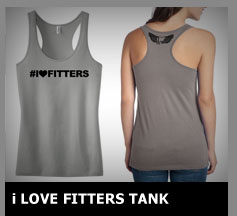 i Love Fitters Tank Top